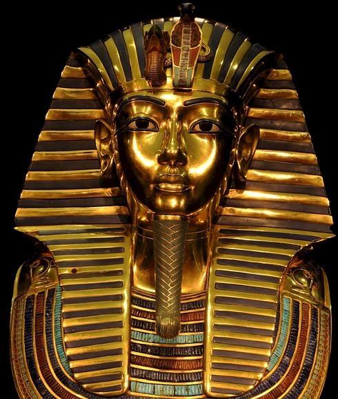 mascara tutankamon 490x578 1 - Imperio Nuevo - Egipto