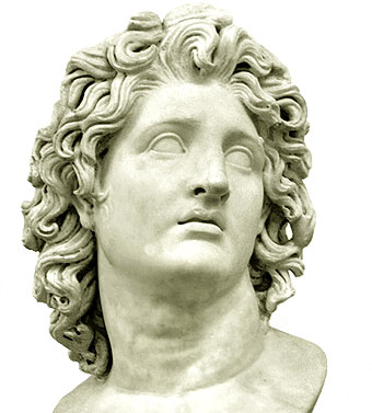 Alejandro Magno Busto - Antigua Grecia