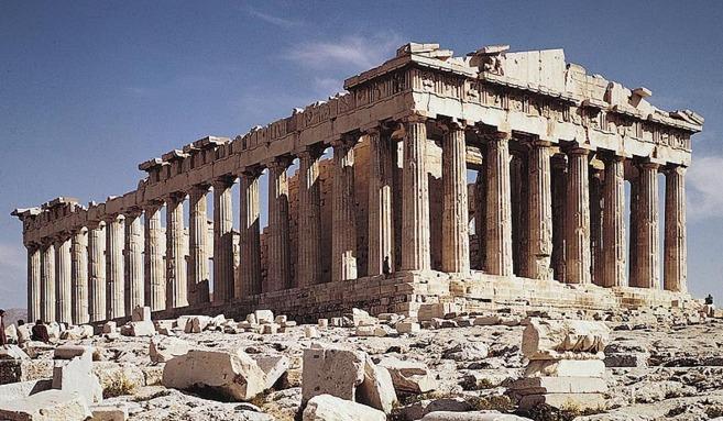 Partenón 1 - Antigua Grecia