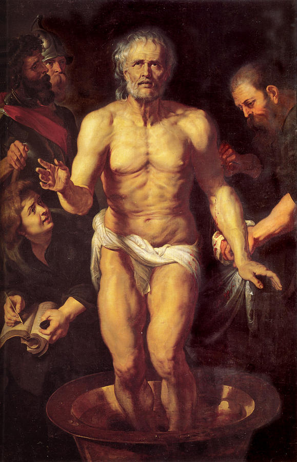death of seneca peter paul rubens - Séneca