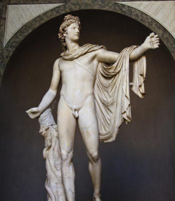 Apolo de Belvedere otot8djvhdmxp73pkb1f5czprel6nzwemi74gpx8o0 - Período Helenístico - Antigua Grecia