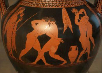 Cerámica de figuras rojas osocqhae562flm799o0z9jq1zxmybq4dh04sl60w90 - Período Arcaico - Antigua Grecia