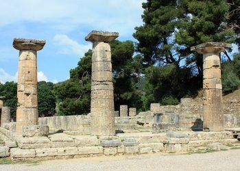 Ruinas del Templo de Hera en Olimpia osre7g86duyj0vpzro8zvk2s333fuoi1mzvpispidg - Período Arcaico - Antigua Grecia