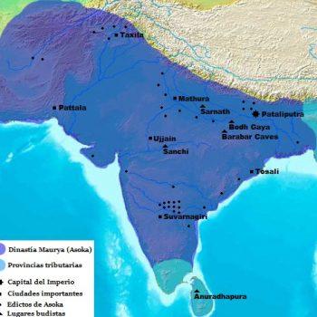 mapa imperio maurya or25sfa030g7v4h62veh94yxrm32ovn7prrbljnl0s - India Antigua