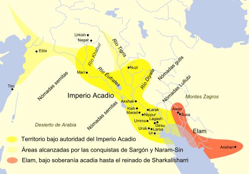 Extensión Acadios - Imperio Acadio