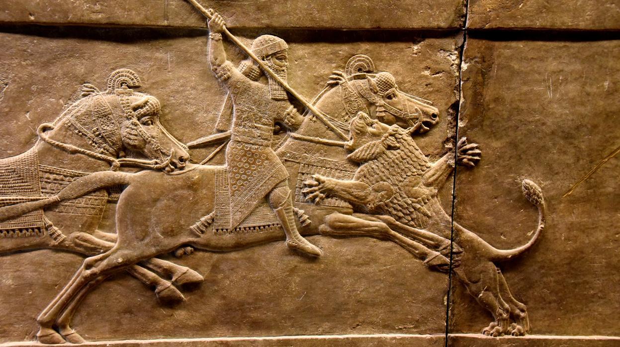 relieve palacio asurbanipal - Asirios