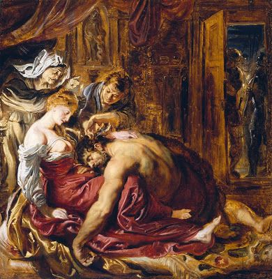 Sansón y Dalila - Civilización Hebrea