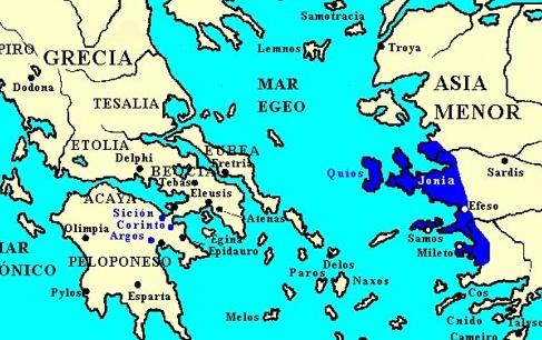 Jonia2 - Guerras Médicas - Antigua Grecia