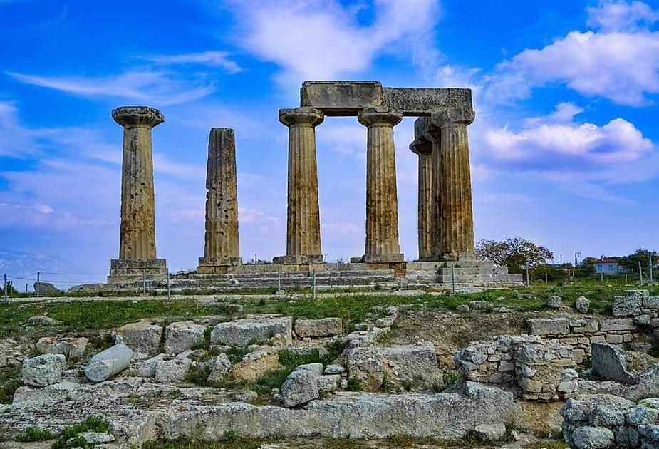 Ruinas de Corinto2 - Guerra del Peloponeso - Antigua Grecia