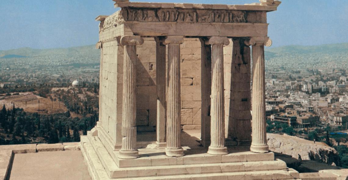 Templo de Atenea NIké 1 - Período Clásico - Antigua Grecia