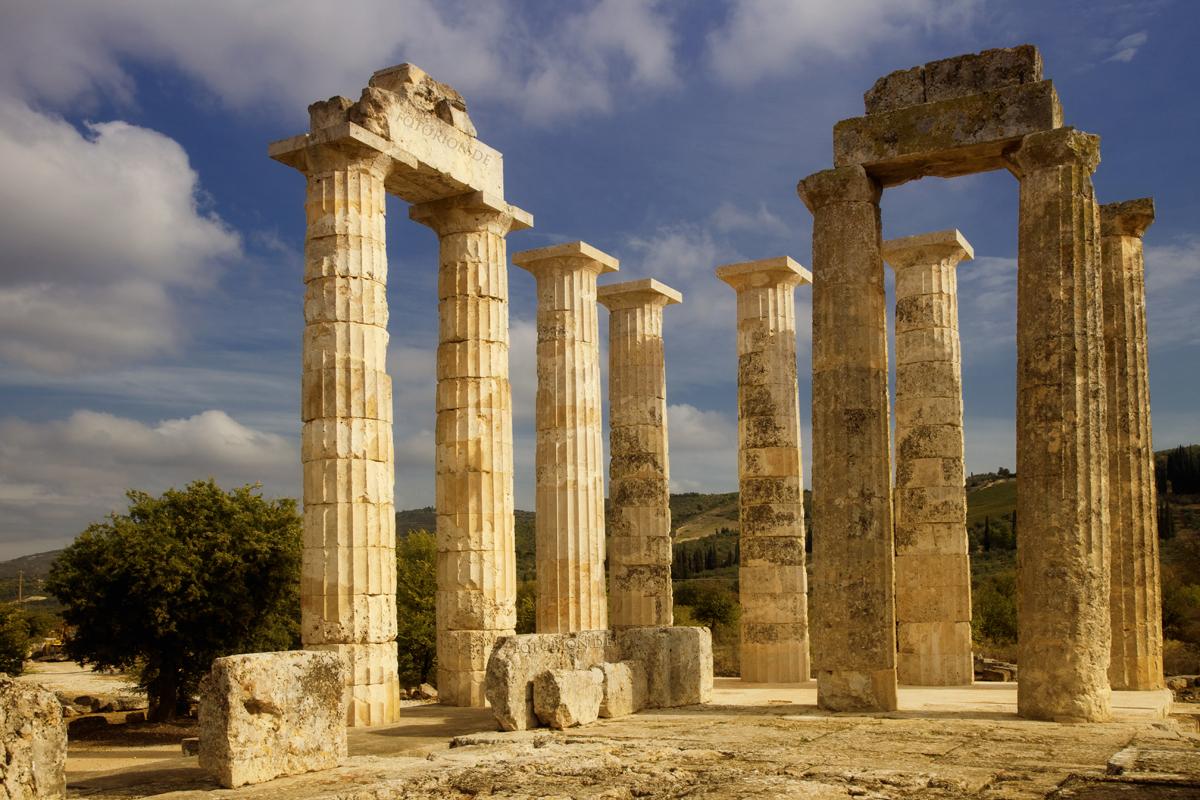 Templo de Zeus en Nemea - Período Arcaico - Antigua Grecia