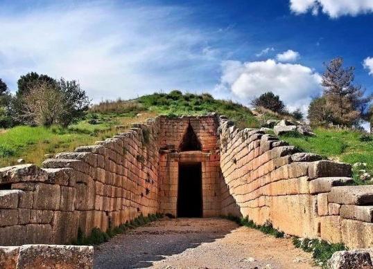 Tesoro de Atreo 1 - Período Cretomicénico - Antigua Grecia