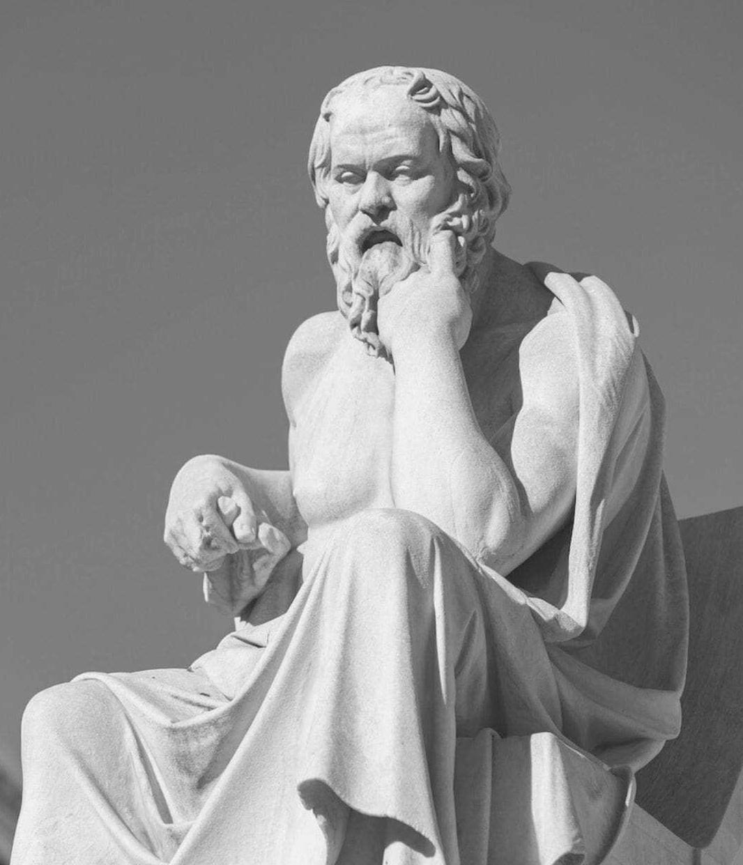 socrates - Sócrates, Platón y Arstóteles
