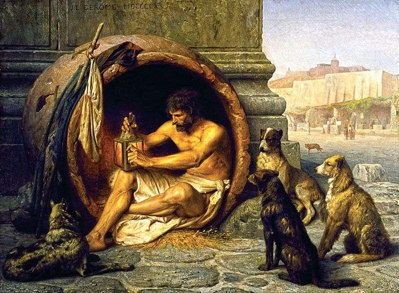 Diogenes de Sinope - Período Helenístico - Antigua Grecia